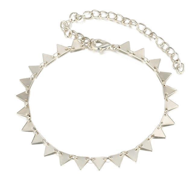 Bracelet de cheville Delta Argent bracelet
