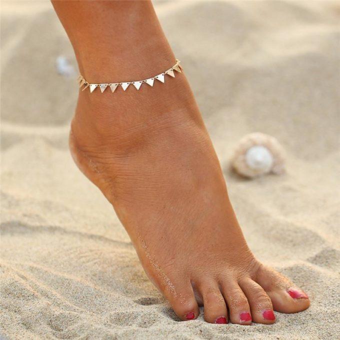 Bracelet de cheville Delta bracelet