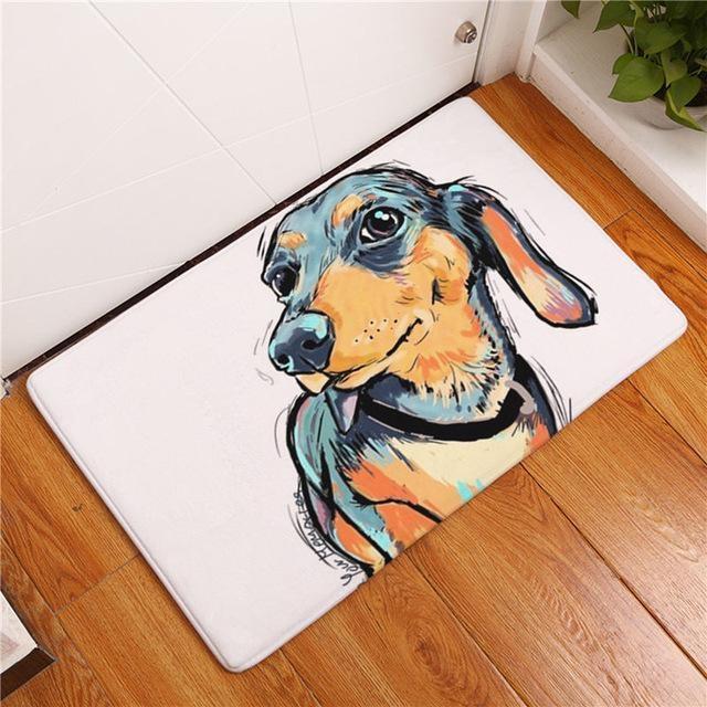 Carpette chien antidérapante 40cmx60cm / Dog10