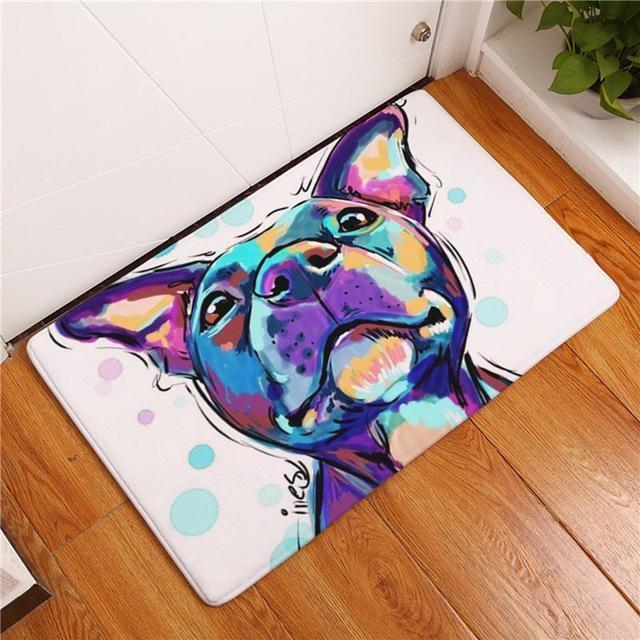 Carpette chien antidérapante 40cmx60cm / Dog13