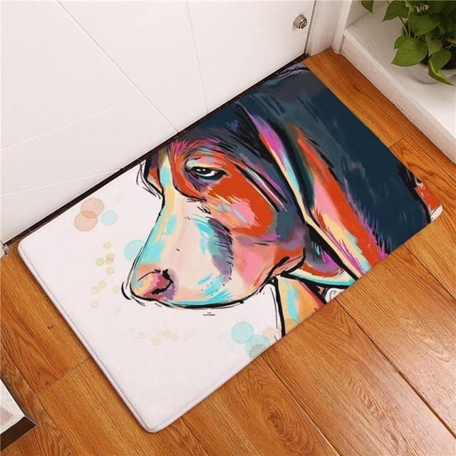 Carpette chien antidérapante 40cmx60cm / Dog3