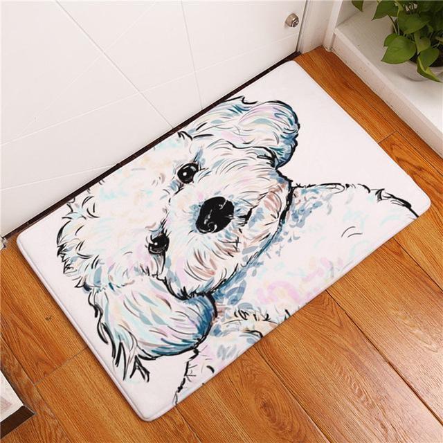 Carpette chien antidérapante 40cmx60cm / Dog5
