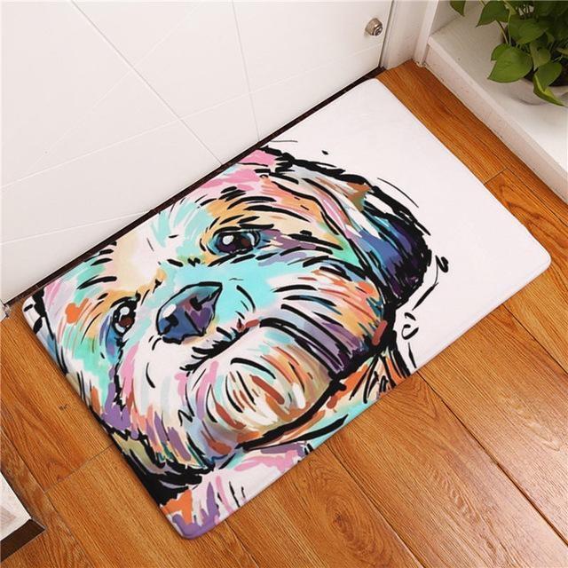 Carpette chien antidérapante 40cmx60cm / Dog7