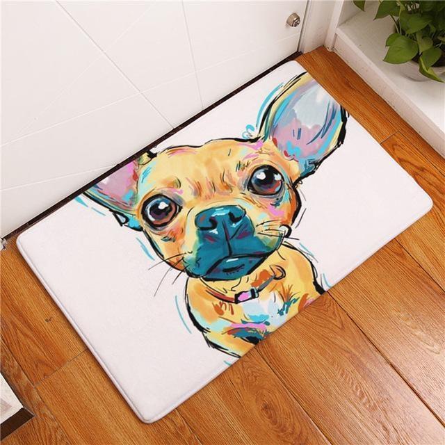 Carpette chien antidérapante 40cmx60cm / Dog9