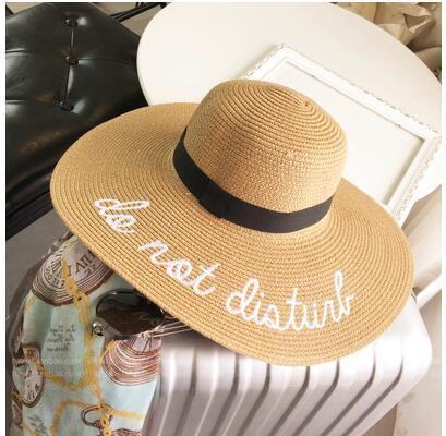 Chapeau do not disturb Blé chapeau