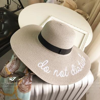 Chapeau do not disturb Gris chapeau
