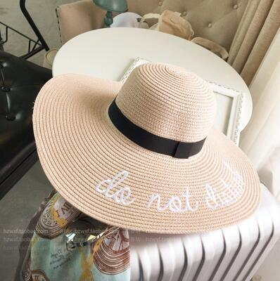 Chapeau do not disturb Rose chapeau