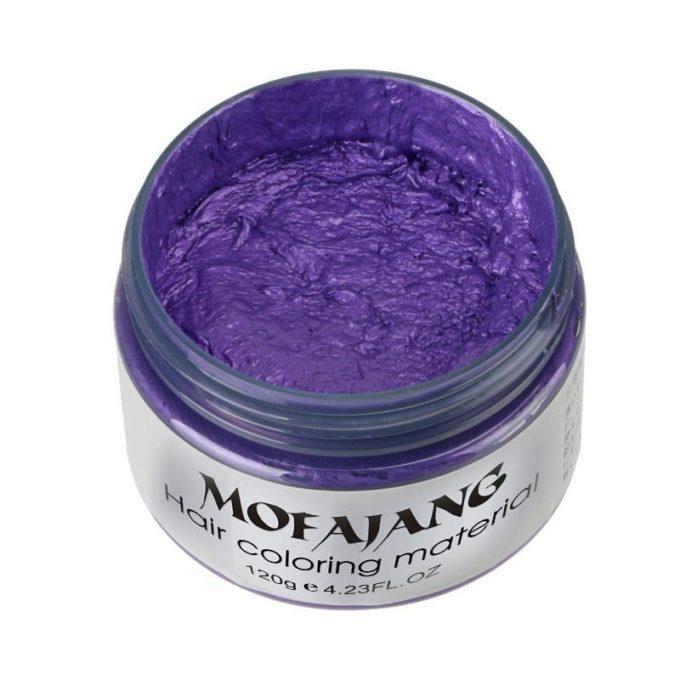 Cire coiffante colorante Violet cire