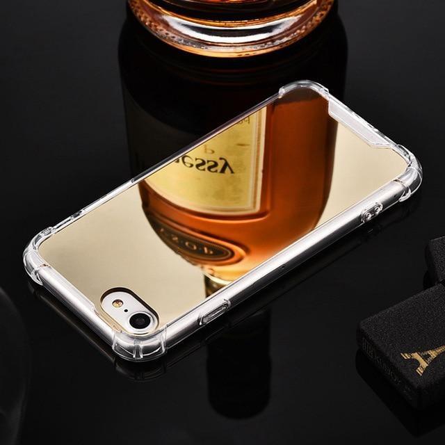 Coque Iphone Miroir Gold / iPhone 6 coque
