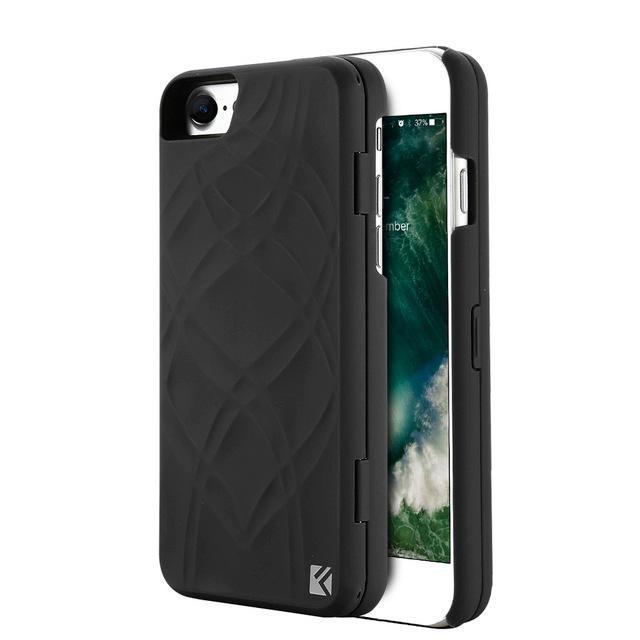 Coque Iphone Miroir+ Noir / iPhone 8 coque