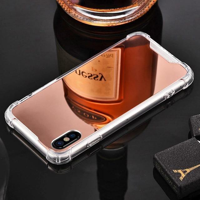 Coque Iphone Miroir Rose / iPhone 6 Plus coque