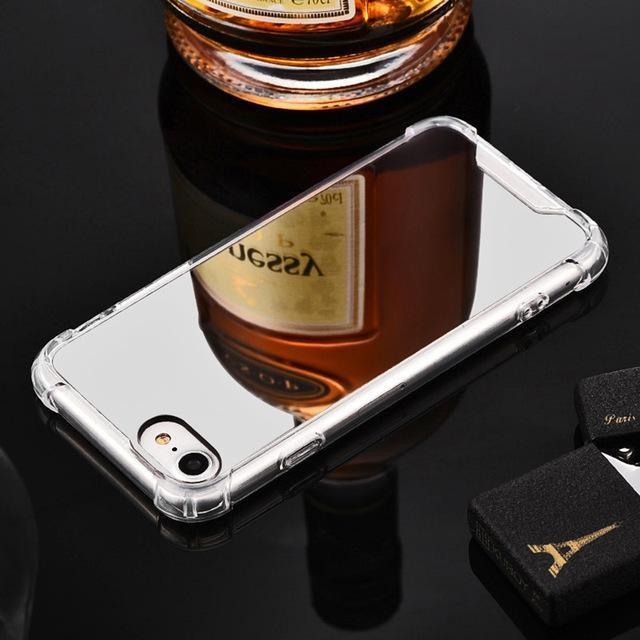 Coque Iphone Miroir Silver / iPhone 6 Plus coque