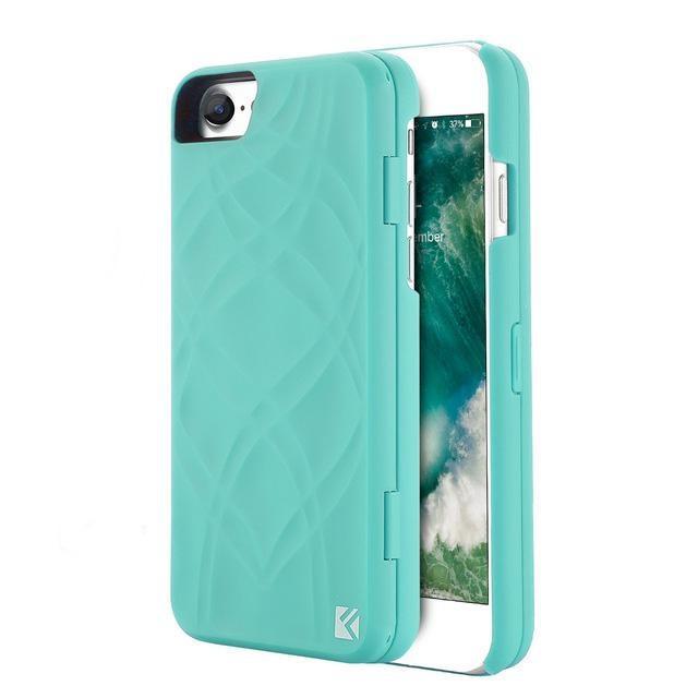 Coque Iphone Miroir+ Turquoise / iPhone 6 6s coque