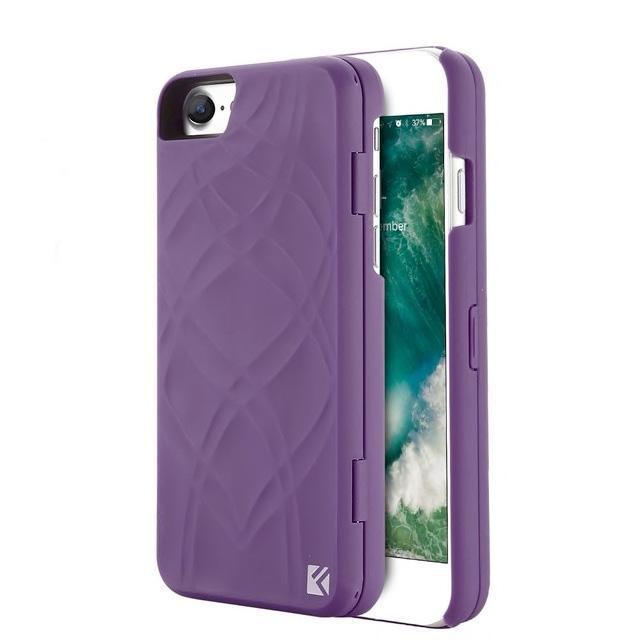 Coque Iphone Miroir+ Violet / iPhone 8 coque