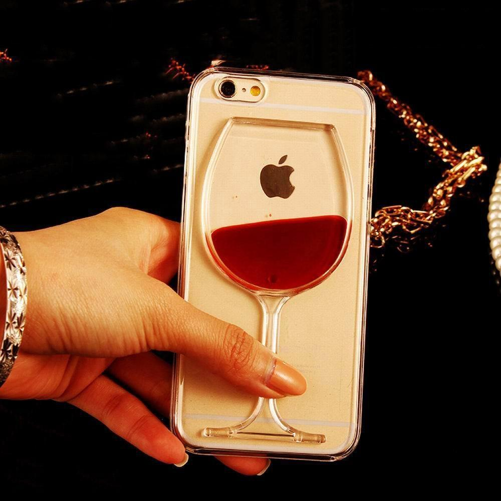 coque verre de vin iphone 5