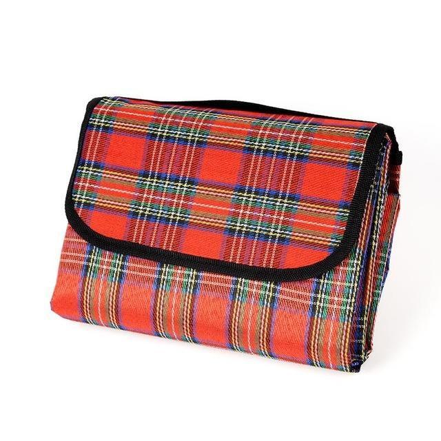 Couverture pique-nique imperméable Rouge / 150x200cm couverture