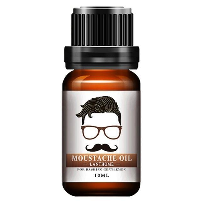 Essence nourrissante de croissance de la barbe huile
