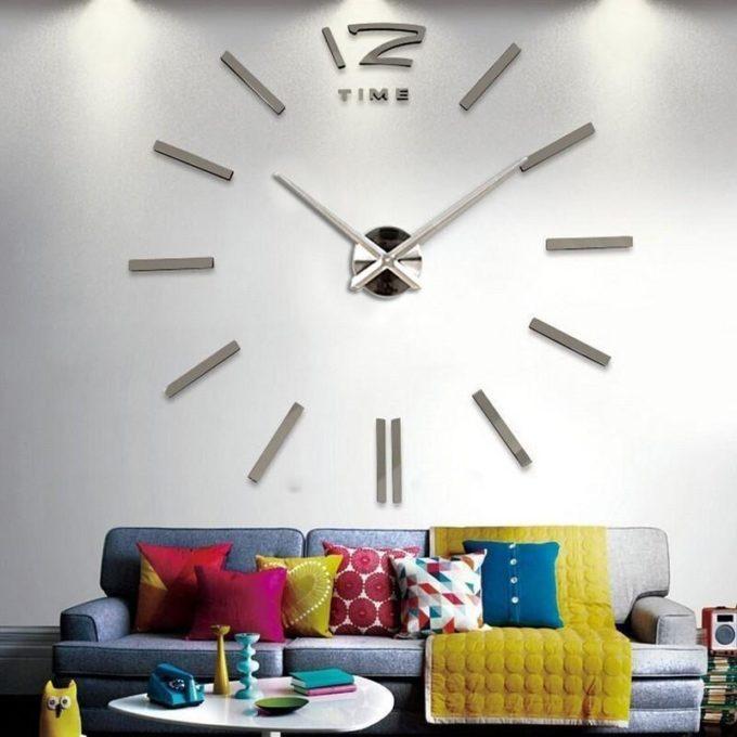 Horloge murale 3D XXL