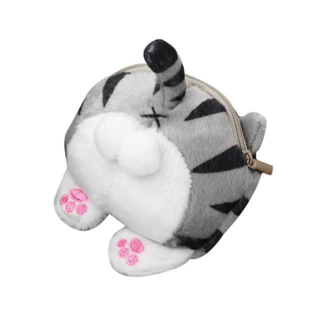 Porte-monnaie chat Tigré porte-monnaie