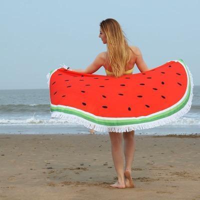 Serviette de plage imprimée essuie