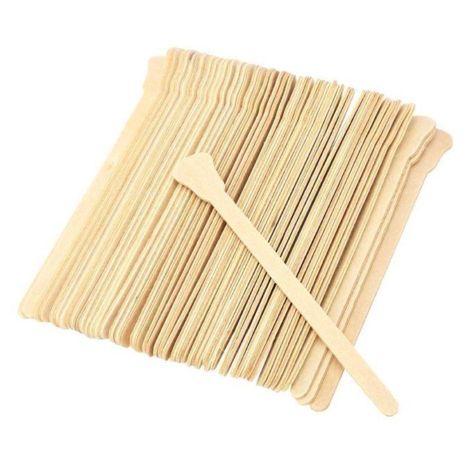 Spatules pour cire (x50) spatule