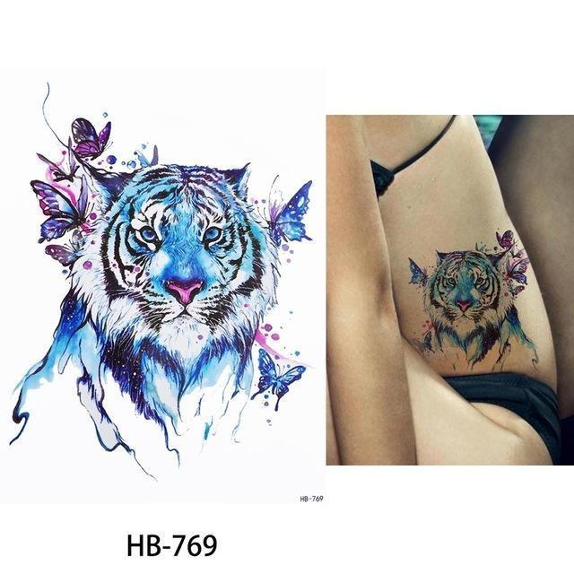 Tatouage Temporaire Aquarelle HB769 tatouage