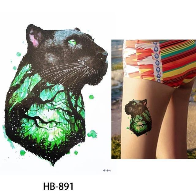 Tatouage Temporaire Aquarelle HB891 tatouage