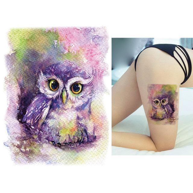 Tatouage Temporaire Aquarelle KM113 tatouage