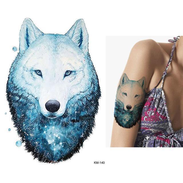Tatouage Temporaire Aquarelle KM140 tatouage