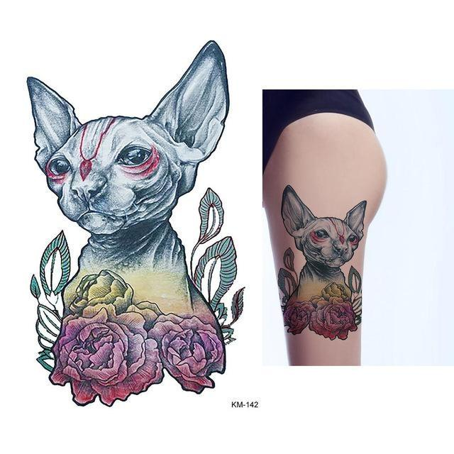 Tatouage Temporaire Aquarelle KM142 tatouage