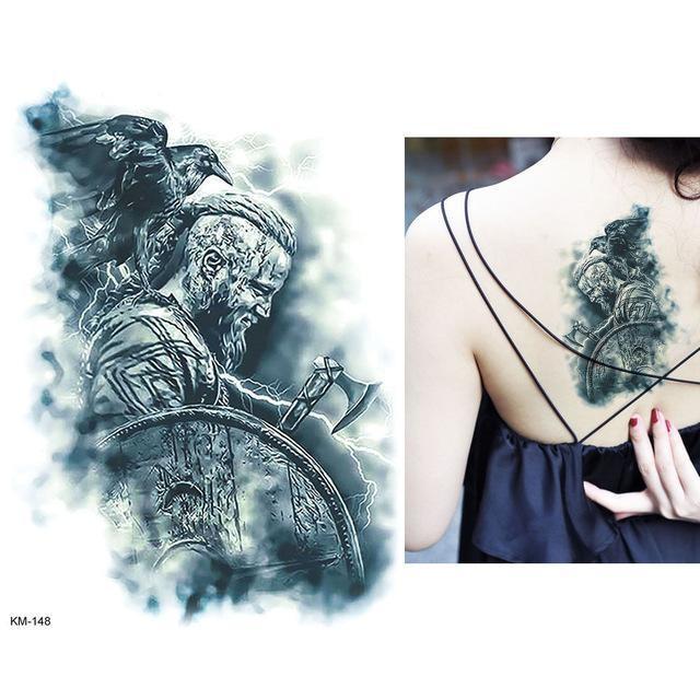 Tatouage Temporaire Aquarelle KM148 tatouage