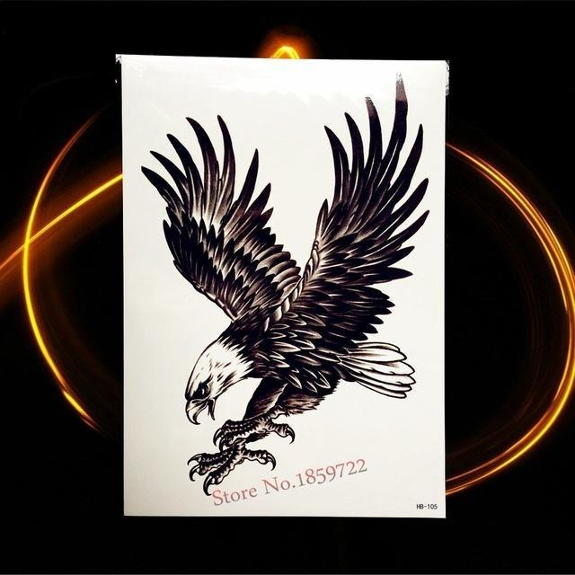 Tatouage Temporaire Black & Grey HHB105 tatouage