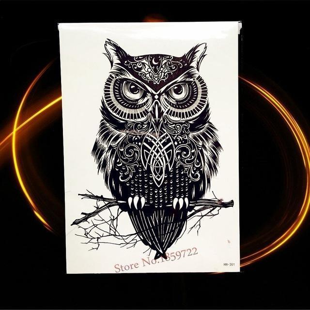 Tatouage Temporaire Black & Grey HHB301 tatouage