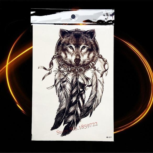 Tatouage Temporaire Black & Grey HHB577 tatouage